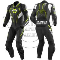 Kawasaki Motorbike Leather Racing Suit/leather biker suit
