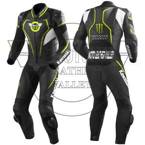Suzuki Motorbike Leather Racing Suit/leather biker suit