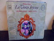 """LP 12"""" FRANZ LEHAR - La Veuve Joyeuse - VG++/MINT - NEUF - PATHE - 4 C 047-10849"""