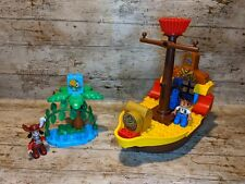 Lego Duplo 10514 Jake And The Neverland Pirates Pirate Ship Bucky (Incomplete)