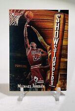 1997-98 TOPPS FINEST SHOWSTOPPERS #271 MICHAEL JORDAN - SHARP CORNERS