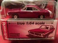 Auto World 1971 Dodge Dart Swinger 1/64 scale NIB 2018 release