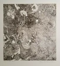 HOLIDAY I SALE!  GUILLAUME AZOULAY LIMITED EDITION ETCHING,  LE CIRQUE, SIGNED