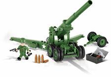 COBI 2394, US Geschütz, Feldhaubitze,155 mm, M1, Long Tom, 200 Teile, neu & OVP