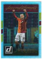 2016 Donruss Soccer Accomplishments Holographic #13 Wesley Sneijder Galatasaray