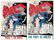 The Spirit Dailies Vol. #1-4 (1977) Funny Paper Mid to High Grade