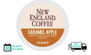New England Coffee Caramel Apple Keurig Coffee 24 Count K-cups