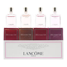 Lancome Miracle Fever Miniature Gift Set 4x 5ml EDP