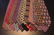 Lot of 20 NEW Designer Neck Ties with Various Patterns L034