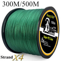 Super Strong PE Spectra Braided Fishing Line 4 Strands 300/500M 12-100LB USA.