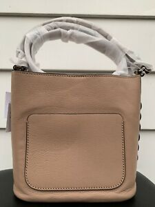 New Kate Spade Atlantic Avenue Small Libby Leather Hobo Shoulder Bag Ginger