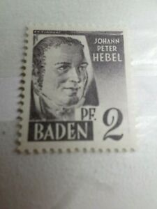 FRANCE 1947 OCCUPATION ALLEMAGNE BADE, timbre n° 1, neuf**, VF STAMP