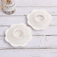 1Hair Catcher Shower Bath Drain Tub Strainer Cover Sink Trap Basin StopperFilter