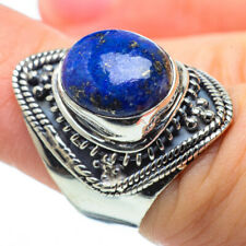 Lapis Lazuli 925 Sterling Silver Ring Size 6.25 Ana Co Jewelry R29278F