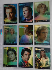 SPACE 1999 MIRROR 9 CARD CHASE SET