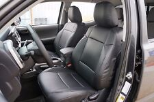 TOYOTA TACOMA 2016- IGGEE S.LEATHER CUSTOM FIT SEAT COVER 13 COLORS AVAILABLE