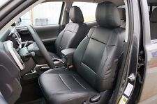 TOYOTA TACOMA 2016 IGGEE S.LEATHER CUSTOM FIT SEAT COVER 13 COLORS AVAILABLE