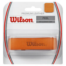WILSON Premium Leather Tennis grip di sostituzione, Roger Federer