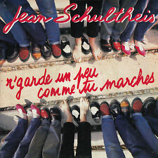 45TRS VINYL 7''/ FRENCH SP JEAN SCHULTHEIS / R'GARDE UN PEU COMME TU MARCHES