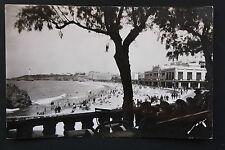 Carte postale ancienne CPA BIARRITZ - La Grande Plage et Le Casino Municipal