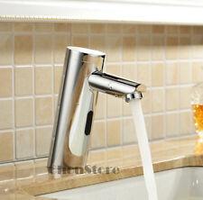 Hands Free Automatic Sensor Control Mixer Bathroom Basin Tap Sink Faucet A76