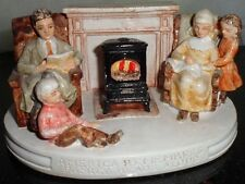 Sebastian Miniature Hand Painted Figurine America Remembers Family Read Baston