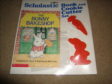 Scholastic Cookie Cutter and Book Set NEW and Sealed The Bunny Bakeshop