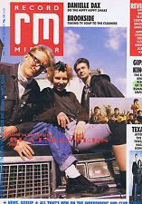 BEATMASTERS / DANIELLE DAX / TEXAS / GIPSY KINGSRecord Mirror  29April1989
