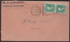 1915 Cover with Cinderella Stamp on Back - Stamp Dealer