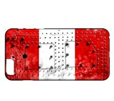 Coque iPhone 8 Drapeau PEROU 06