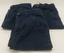 Lot of 3 Cat & Jack Target School Uniform Shorts Boys Size 5 Adjustable Waist