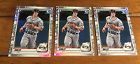2020 Bowman Chrome Draft Lot Of 3 Patrick Bailey Refractors BD-146