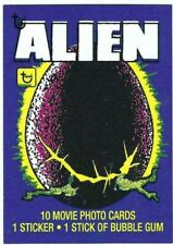 2018 TOPPS 80TH ANNIVERSARY TRADING CARDS CARD  #51 ALIEN 1979   WRAPPER ART