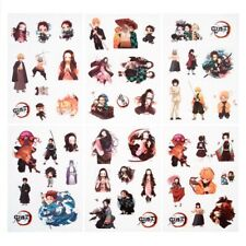 6pcs Demon Killer: Kimetsu No Yaiba Kamado Tanjirou And Paper Account Sticker