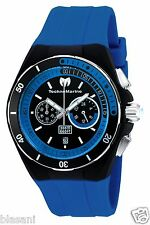 Technomarine TM-115162 Sport/Cruise Men's Blue Silicone 45mm Chronograph