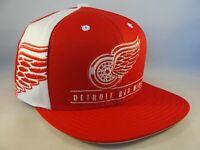 Detroit Red Wings NHL Reebok Snapback Hat Cap Red White