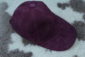 DISCOUNT! Leather Purple cap