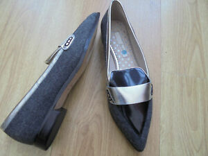 BODEN FLAT POINTED LOAFERS  SIZE 37==4 BNWOB