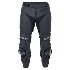 Pantalones vaqueros de cuero para motoristas, para mujer