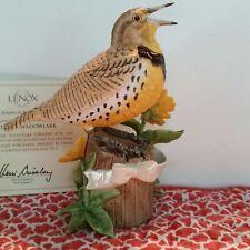 Lenox Western Meadowlark 2015 Annual Bird Limited Edition NEW IN BOX