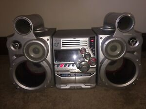 """JVC MX-GT90 """"VERY DEEP BASS"""" (RARE) Compact Stereo Component System"""