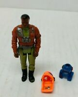 Vintage M.A.S.K. Hondo Maclean with two Masks/Helmets Kenner 1980 Action Figure