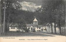 B104850 France Nantua Vieux Chateau de Pradon et le Signal