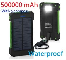 Waterproof 500000mAh Dual USB Portable Solar Battery Charger Solar Power Bank G