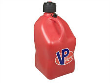 VP FUEL JUG CAN UTILITY JUG 5-GALLON RED GAS MOTORSPORT SQUARE RACING CONTAINER