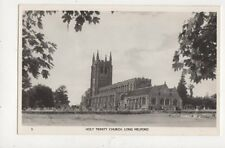 Holy Trinity Church Long Melford Vintage RP Postcard Pawsey 743a