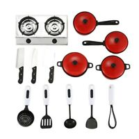 Kitchenware Cookware Set for Dolls House Miniature Home Kitchen Accessory M A5J8
