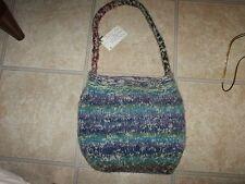 NWT Hand-Made Wool & Alpaca Purse Handbag Made in State College, PA USA #2