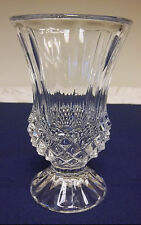 J.G. Durand Cristal d'Arques Lead Crystal Glass Flower Bud Vase France Longchamp