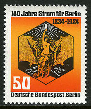 Germany-Berlin 9N492, MNH. Electricity Centenary, 1984